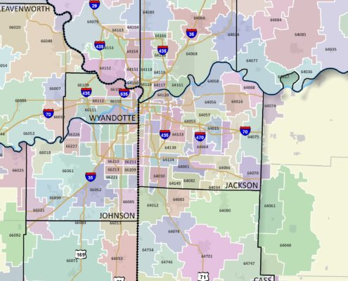 popular Kansas City zip codes for real estate investors